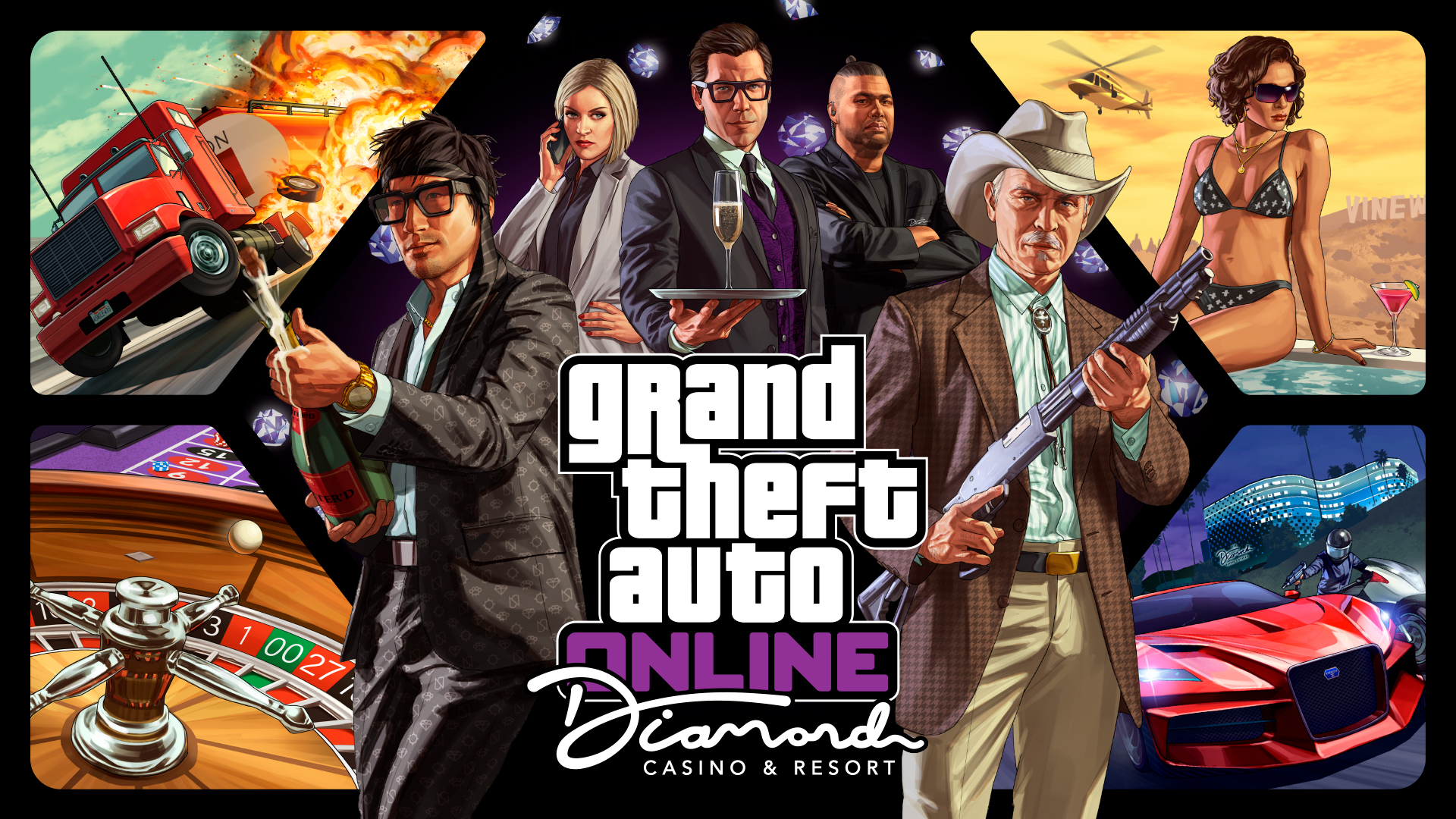Grand Theft Auto Online Crack + License Key Free Download 2020